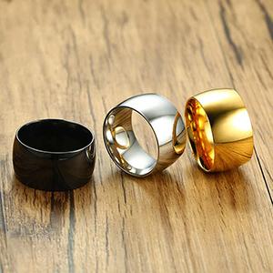 11.5mm finger rings for men