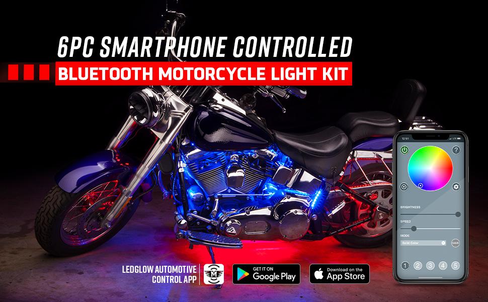Bluetooth Moto Lighting Kit