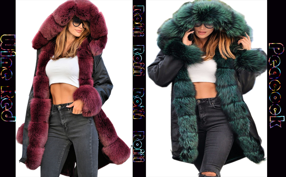 Roiii Winter Coat