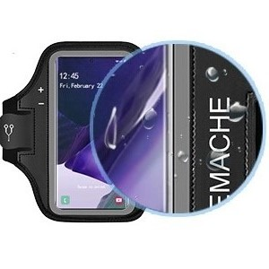 JEMACHE Gym Run Workout Arm Band for Samsung Galaxy Note 20, 20 Ultra