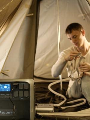 Portable solar genertor AC200P