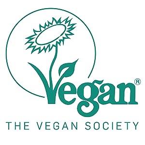 the vegan society badge