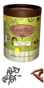 EarthPods Dwarf Meyers Lemon Lime Orange Citrus Fruit Organic Plant Food Fertilizer Spikes