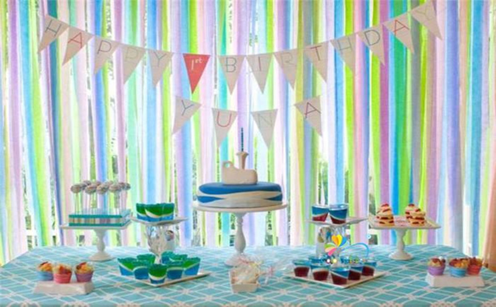 Crepe Paper Streamer for Party Supplies