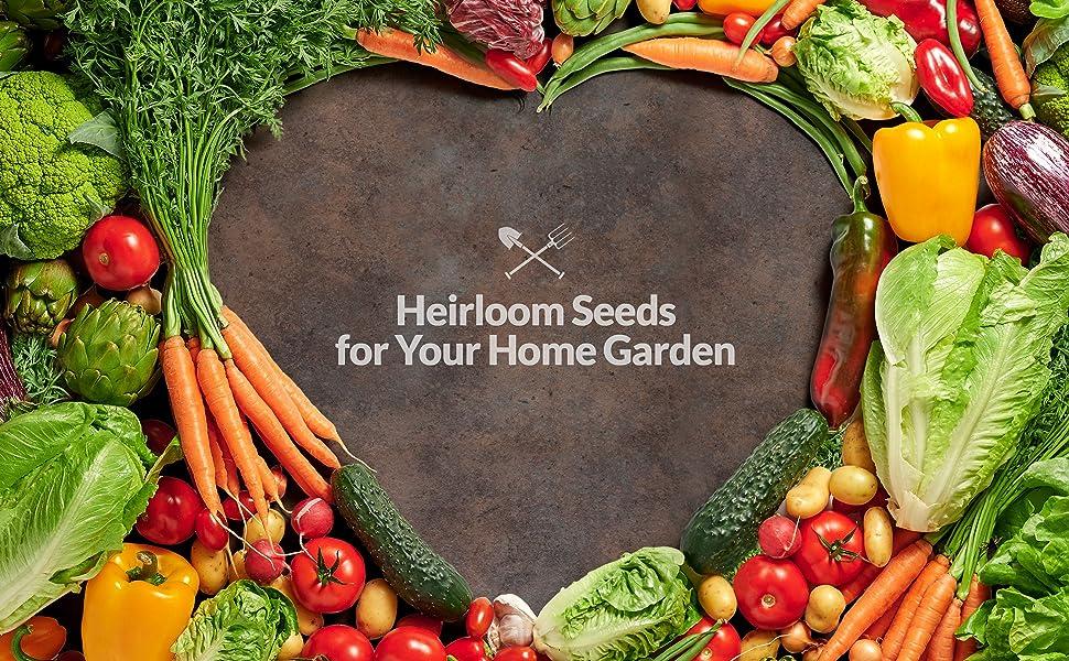 survival garden seeds heirloom non gmo open pollinated