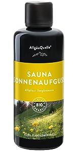 Sauna Allgäuer Jungbrunnen