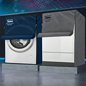 Siemens protective dust cover grey for washing machines and dishwashers