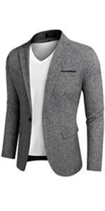 Men's Casual Business blazer Lightweight Waistcoat Slim Fit Suit Vest