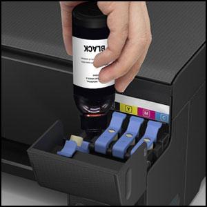 Ultrics Nachfülltinte Flasche Schwarz 2 Stück 100ml Nachfüllen Ink Bottle Druckertinte Kompatibel Mit Epson Kodak Canon Brother Dell Hp Lexmark Printers Bürobedarf Schreibwaren