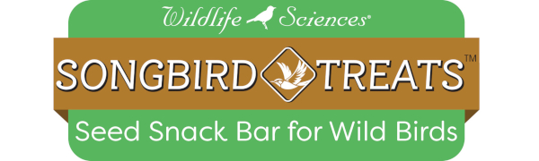 Songbird Treats Seed Cakes and Seed Bars for wild Birds