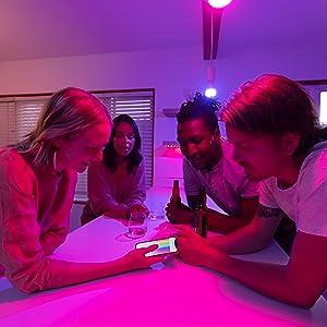 Yeelight 1S kleur instelbare helderheid kleurtemperatuur E27 slimme verlichting Alexa