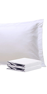 NTBAY 100% Brushed Microfiber Pillow Shams