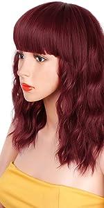 wave bob wig