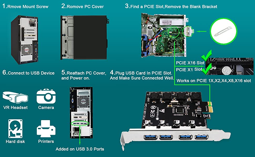 pcie usb 3.0 card pcie usb card pci express USB 3.1 card pcie usb 3.1 card usb card pcie USB-c card
