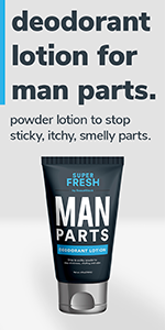 Super Fresh Ball Deodorant & Wash for Man Parts by SweatBlock for Men