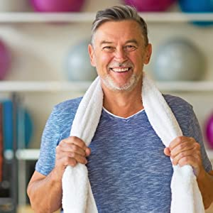 Healthy Man Exercising with USANUTRA Glucosamine