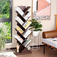 9-Tier Tree Bookshelf for Home & Office