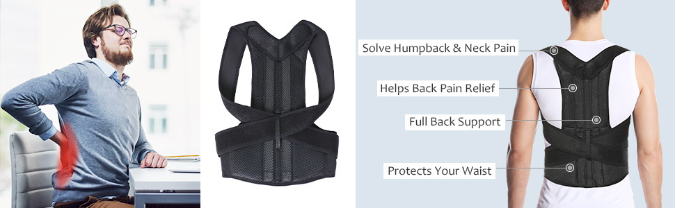 Full back support help back pain relief