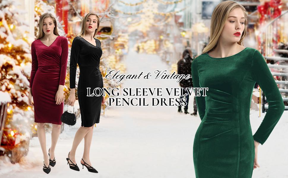 velvet dress for christmas