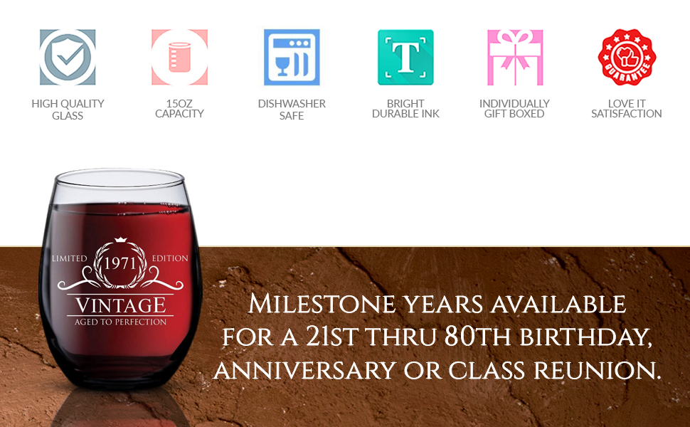 these limited edition aged perfection glasses sure huge hit at 21 old celebration celeb celebrations
