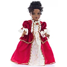 belle winter beauty and the beast red dress