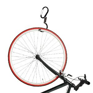heroclip with bike hangs bicycle
