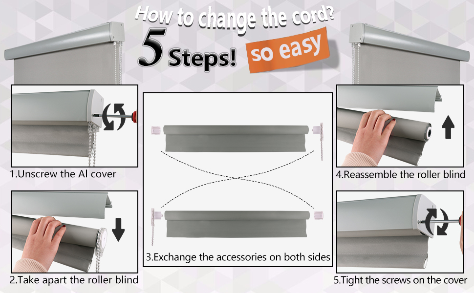 how to change the cord