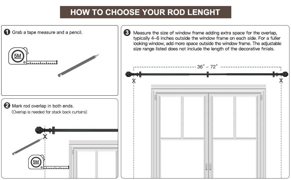 choose rod size