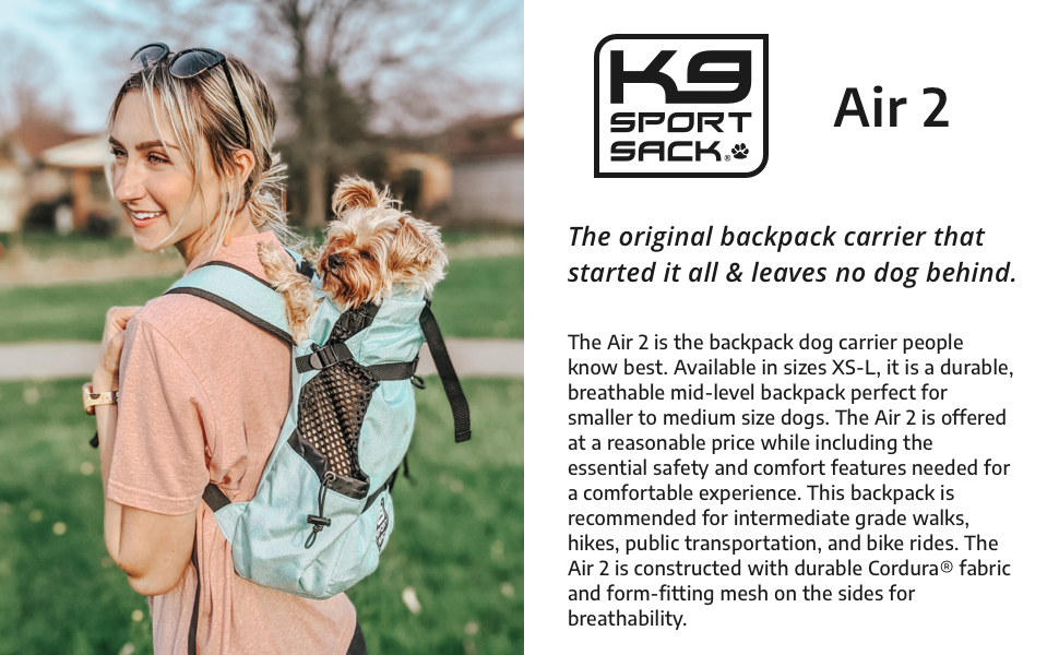 The original backpack carrier that started it all and leaves no dog behind