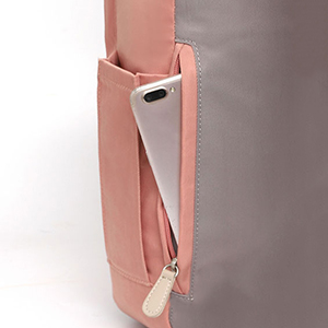 Versteckten Hintertasche