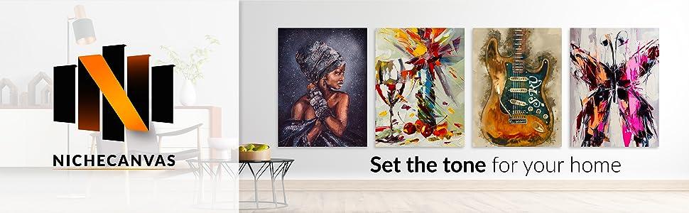 nichecanvas, wall art, canvas prints