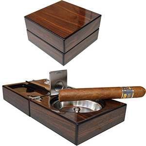 Compact Cigar Ashtray