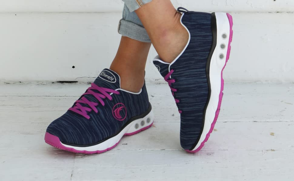 therafit paloma lite arch support sneaker plantar fasciitis