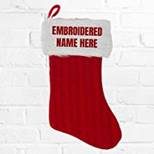 Classic Red Christmas Stocking