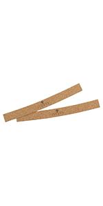 dfhrehHut korkstreifen korkeinlage kork hutbänder hutbandeinlage hutband hutumfang reduzieren