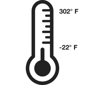 Withstand Temperature Range