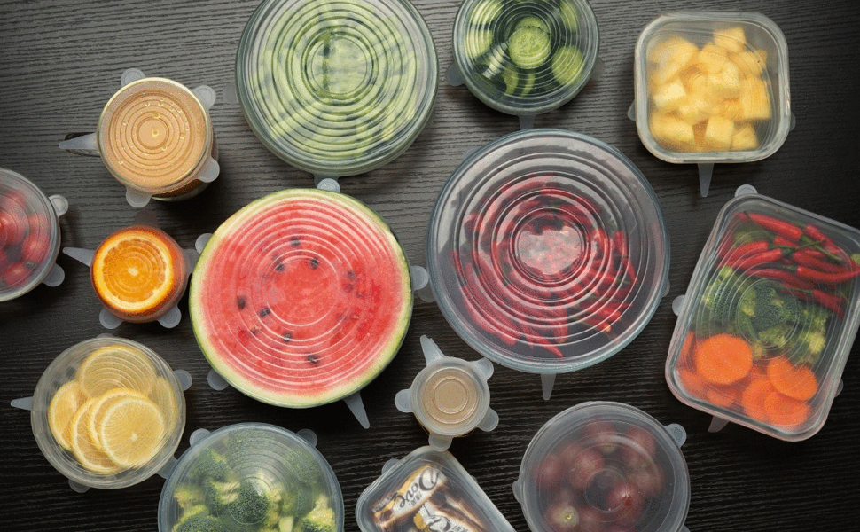 square silicone stretch lids eco tapas silicona pyrex replacement instalids can mason beeswax