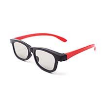 Ultra 1 Par de Rojo y Negro Gafas 3D Pasivo para Adultos para Uso ...