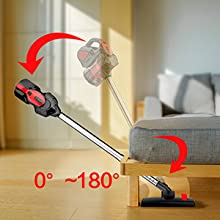 180° Vacume Cleaner