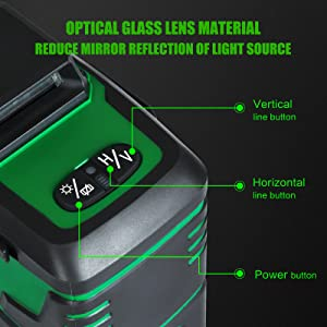 Green Beam Self-Leveling Laser Level