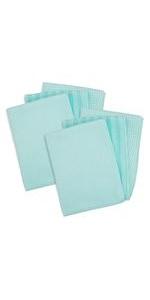 print microfiber micro fiber cleaning cloth set towel dish pack