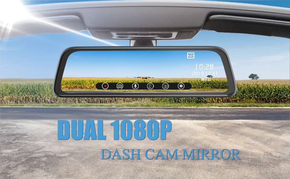 mirror dash cam