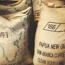 Ethiopian Yirgacheffe coffee bags