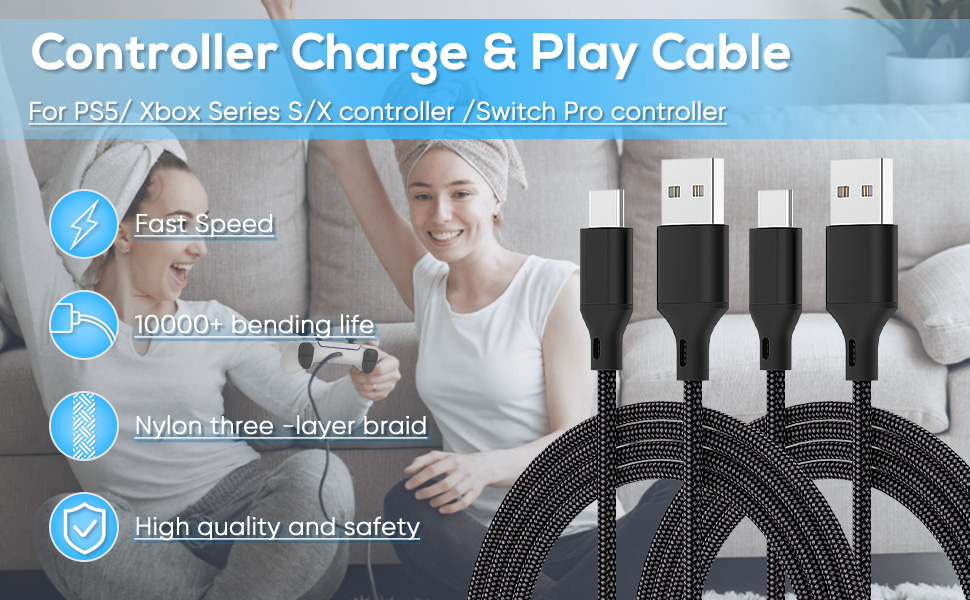 ps5 charging cord
