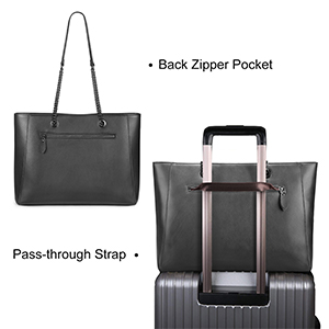 women leather tote