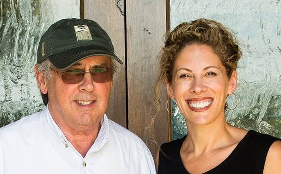 Texas Hill Country Olive Company owners and operators, father daughter family duo