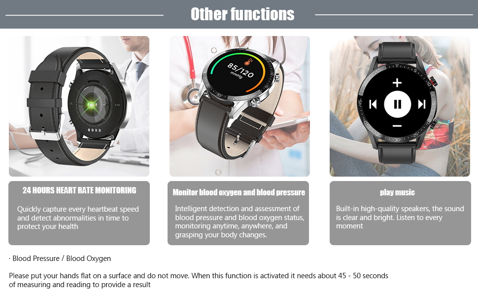Multiple  function smartwatch