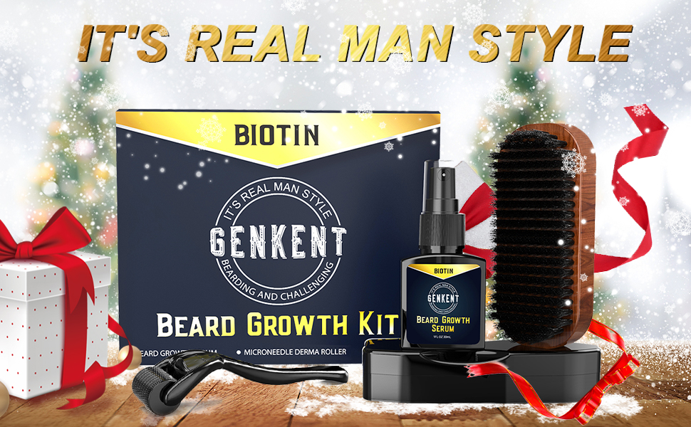 Genkent Beard Growth Kit
