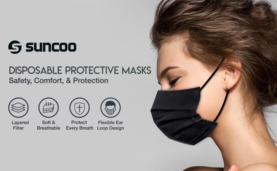 Suncoo disposable face mask
