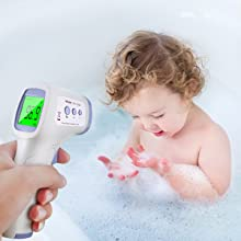 touchless digital infrared thermometer